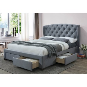 Birlea Hope Fabric 4 Drawer Bed Bed Frame-