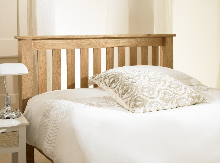 Emporia Beds Richmond Chunky Oak Bed Frame | Beds |