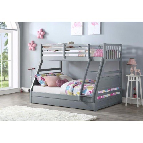 Flair Furnishings Ollie Triple Bunk Bed Triple Bunk Beds