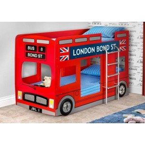 Julian Bowen London Bus Bunk Bed-
