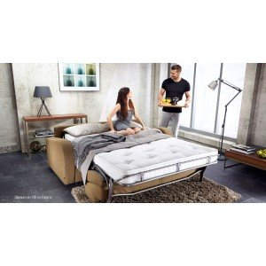 Jay-Be Retro Deep Sprung 3 Seater Sofa Bed -