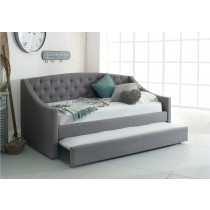 Flair Furnishings Aurora Fabric Daybed With Trundle-