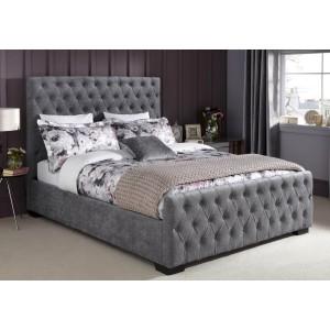 Serene Lillian Fabric Bed Frame-