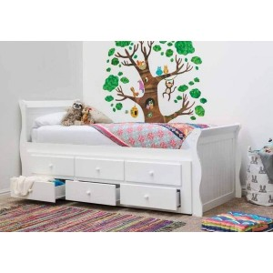 Sleep Design Wilmslow Captain Bed Frame-