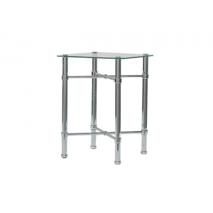 Original Bedstead Company Chrome Bedside Table