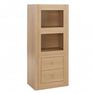 LPD Moda 2 Tier Display Unit With 2 Drawers
