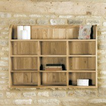 Baumhaus Mobel Oak Reversible Wall Rack