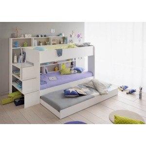 Parisot Bibop 2 White Bunk Bed-