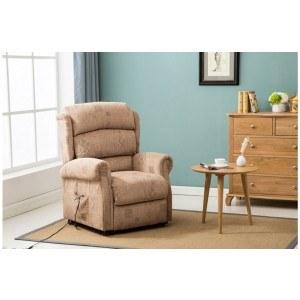 Birlea Manhattan Fabric Rise and Recline Chair