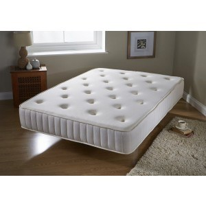 GFW Luxury Tufted Bonnell Spring and Memory Foam Mattress-