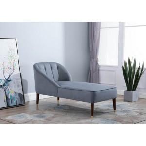Birlea Alexa Grey Chaise Longue-