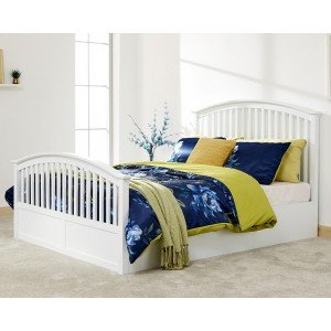 GFW Madrid Side Opening Wooden Ottoman Bed Frame-