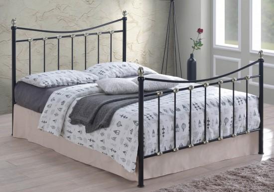 Time Living Oban Metal Bed Frame-color Black