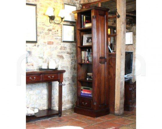 La Roque Narrow Alcove Bookcase 1