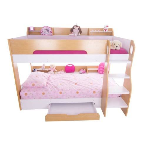 Flair Furnishings Flick Bunk Bed Maple January Sale