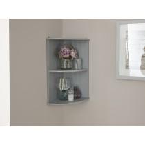GFW Colonial Corner Wall Shelf Unit-