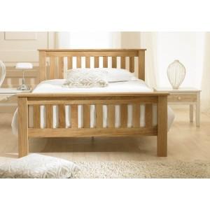 Emporia Beds Richmond Chunky Oak Bed Frame -