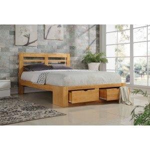 Flintshire Furniture New Bretton Wooden Bed Frame -