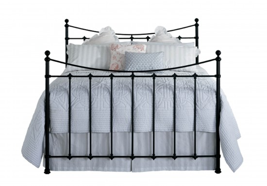 Original Bedstead Company Chatsworth Iron Bedsteads-color Satin Black