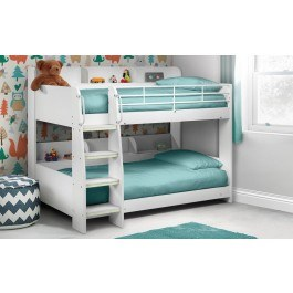 Julian Bowen Domino Bunk Bed White