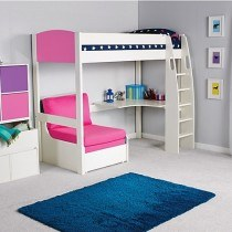 Stompa Uno S 5 with Desk & Chair Bed-