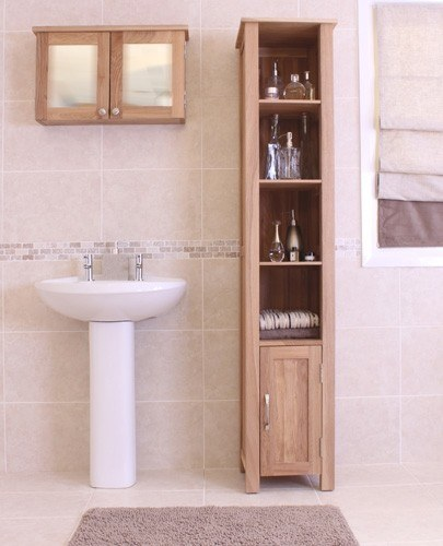 image baumhaus mobel baumhaus mobel oak open bathroom unit tall