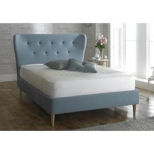 Limelight Aurora Duck Egg Blue Fabric Bed Frame -