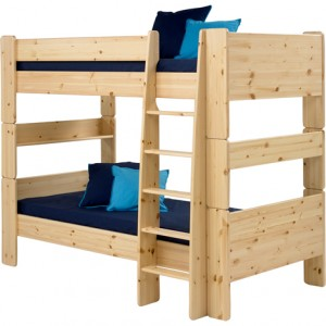 Steens Natural Lacquer Bunk Bed