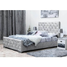 Sleep Design Buckingham Fabric Bed Frame