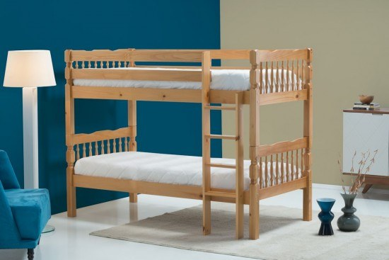 BIRLEA WESTON PINE BUNK BED
