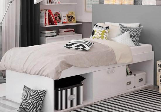 Kidsaw Arctic Low Sleeper Cabin Storage Bed-