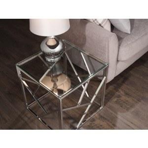 Serene Phoenix Lamp Table