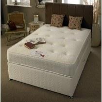 SleepTimes Memory Pocket Silk Divan Bed