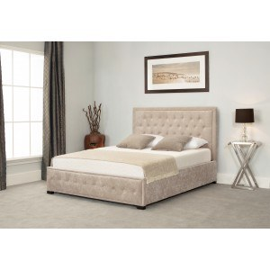 Emporia Beds Albany Ottoman Stone Bed Frame