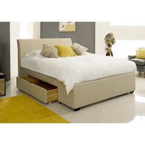Artisan Fabric 2 Drawer Bed Frame -