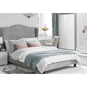 LPD Furniture Chateaux velvet Bed Frame -