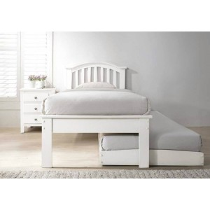 Flair Furnishings Justin Guest Bed White-