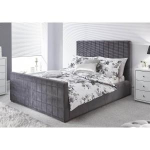 GFW Delaware Fabric Ottoman Bed-