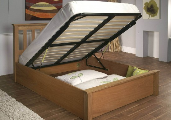 Limelight Terran Oak Ottoman Bed-color Oak