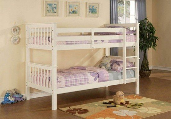 Limelight Pavo White Bunk Bed-