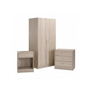LPD Delta 3 Piece Bedroom Set -