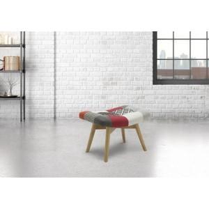 Birlea Sloane Fabric Footstool-