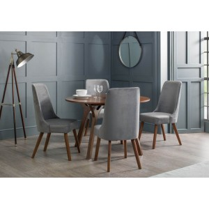 Julian Bowen Huxley Dining Set With 4 Chairs-