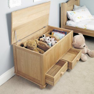 Baumhaus Amelie Oak Toy Box