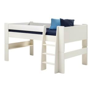 Steens For Kids Midsleeper White