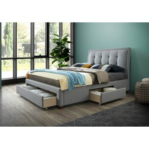 Birlea Shelby Fabric Drawer Bed Frame-