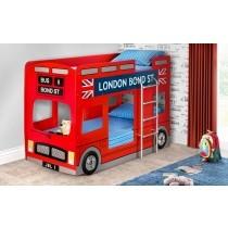 Julian Bowen London Bus Bunk Bed-