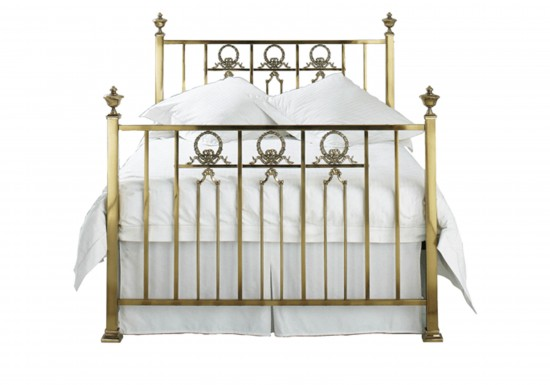 Original Bedstead Company Ayr Brass Bedstead-color Antique Brass