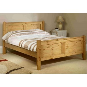Friendship Mill Coniston High Footend Wooden Bed Frame-