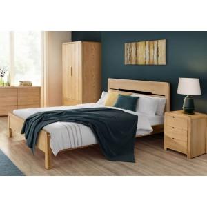 Julian Bowen Curve Bed Frame-